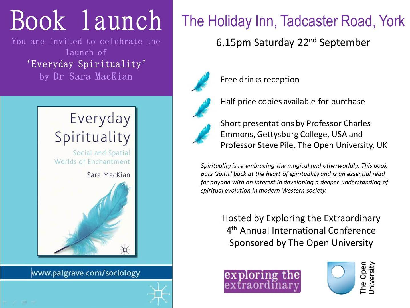 Book launch everyday spirituality everyday spirituality this stopboris Images