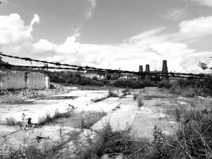Industrial decline in Stoke-on-Trent.