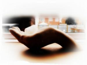 Healing hands..?