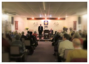 A typical Spiritualist Church service