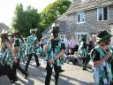 Morris dancing at Corfe Castle