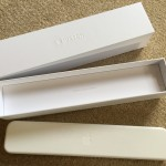 Long thin plastic box