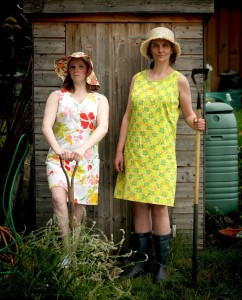Dora and Maddy in Allotment, Edinburgh Fringe