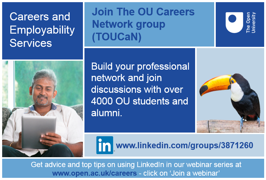 Beautiful Studying With The OU For Career Purposes? Are You U201cLinkedInu201d?