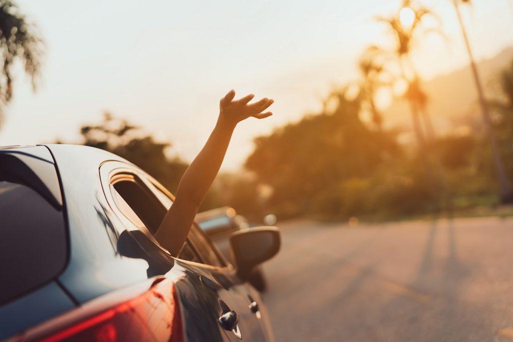 Hatchback Car travel