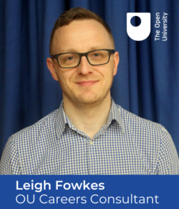 OU Careers Consultant Leigh