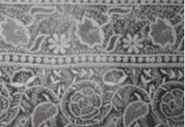 Traditional Chikan embroidery from Lucknow