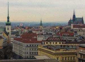 View across Brno