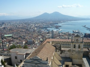 Naples from the Certosa di San Martino