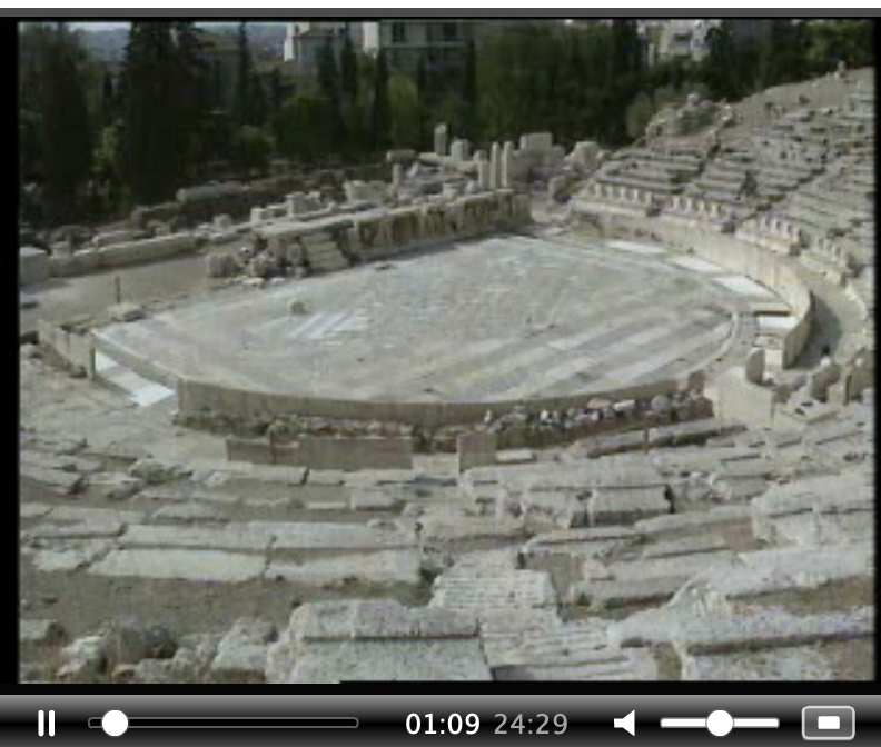 The theatre of Dionysus, Athens