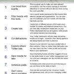 Ten Twitter tips for the time poor