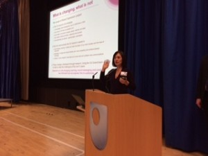 Suzy McGill in full flow on creative brand expression. Who needs a new brand expression  when we can have Suzy?