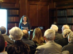 Elaine Moohan at Early Glasgow event 1