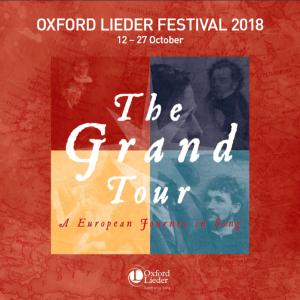Oxford Lieder festival leaflet
