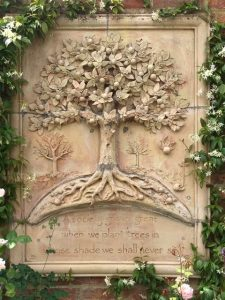 """""""A society grows great when we plant trees in whose shade we shall never sit""""."""