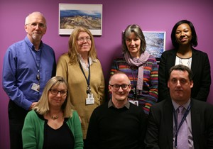 Members of the Engaging Opportunities Project team