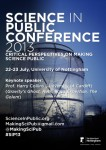 Science in the Public Conference 2013 Poster