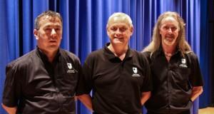 Members of the OU's AV Team