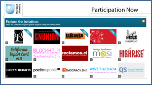 The Participation Now site as part of Open Learn