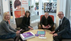 The design team: l-r Helen Donelan, Ann Grand, Peter Devine and Richard Holliman