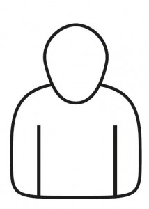 Figure 2: The outline images of a person.