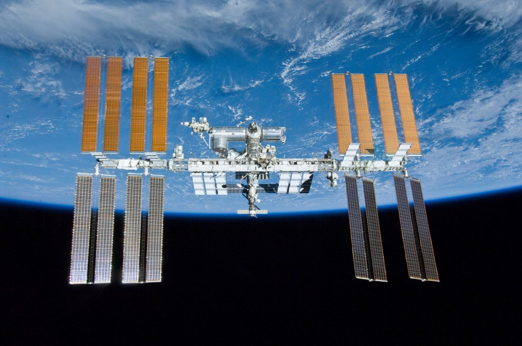 The International Space Station. Source: European Space Agency.