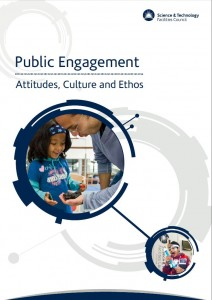 Public Engagement: Attitudes, Culture and Ethos (STFC, 2016).
