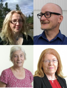 The authors of the chapter: Vickie Curtis; Richard Holliman; Ann Jones; and Eileen Scanlon.