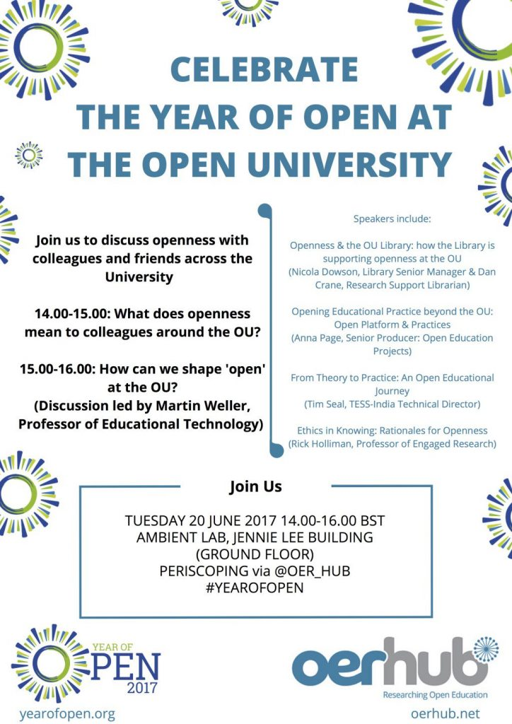 Celebrate the Year of Open at the Open University