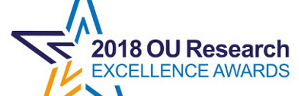 Recognising Research Excellence through the OU's 2018 Awards