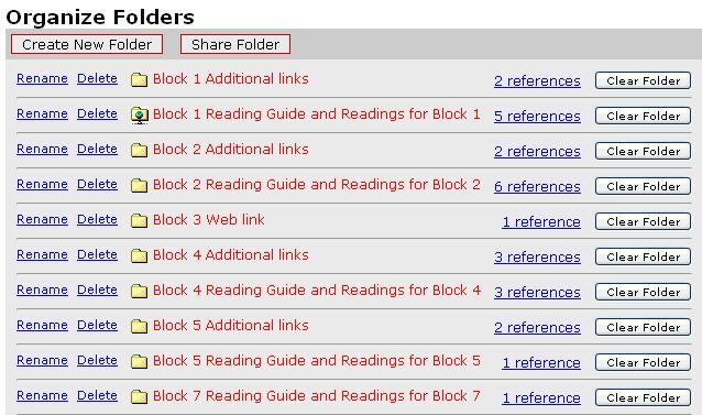 RW Folder Structure example