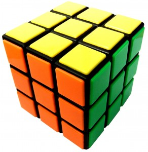 """""""Stick with it"""" and """"Be logical"""" - Rubix Cube by jaymzg"""
