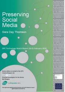 preserving social media cover
