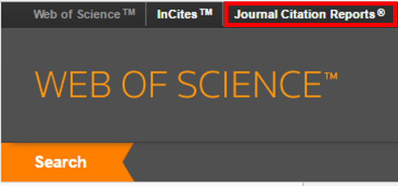 how to find journal citation reports