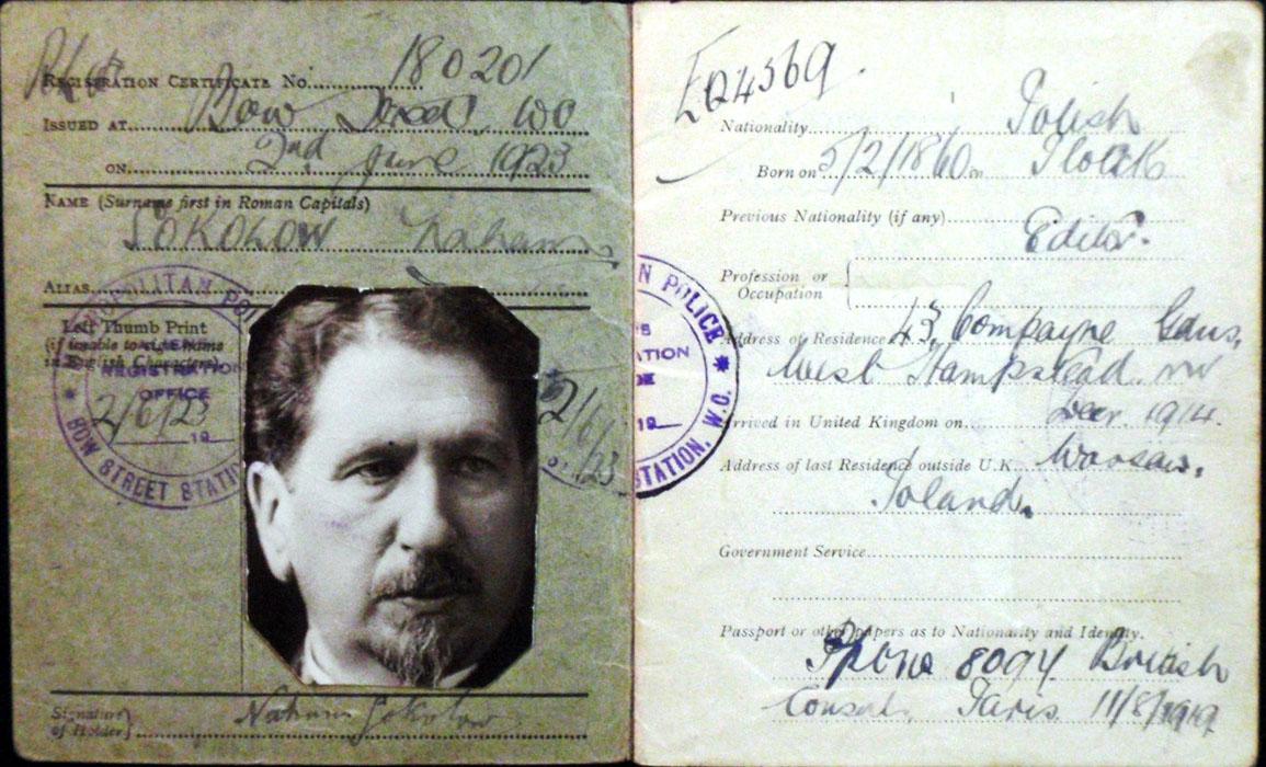 Crime Documents Aliens Certificate Of Registration