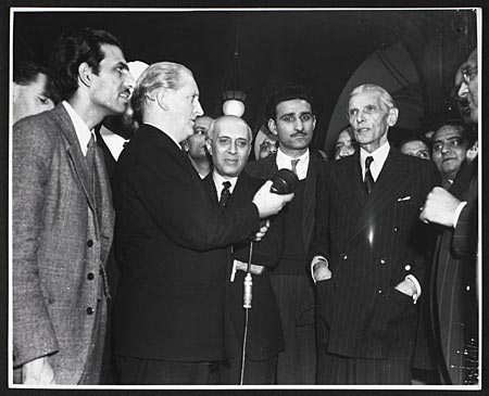 Nehru and Jinnah photo
