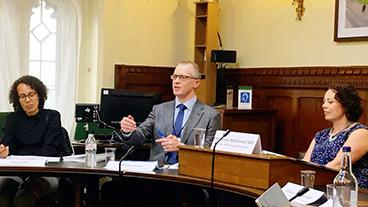 Phil Kenmore at the APPG