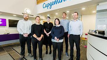 The Capgemini team