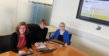 Ann Flynn, Angela Gill, Kate Fawcett