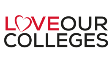 Love our colleges logo