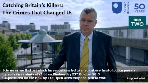 Promotional information from Catching Britain's Killers