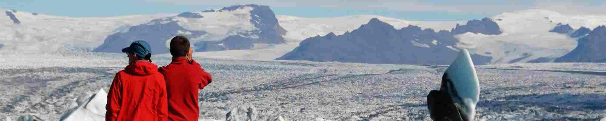 Jokulsarlon Lake and Breidamerkurjokull Glacier, Iceland photo
