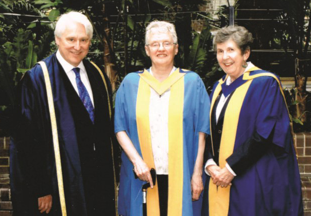 An Honorary Degree for Mabel in 2010