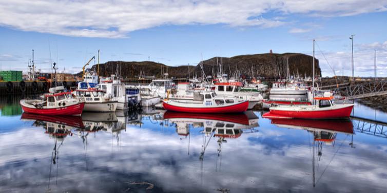Icelandic fishing boats image