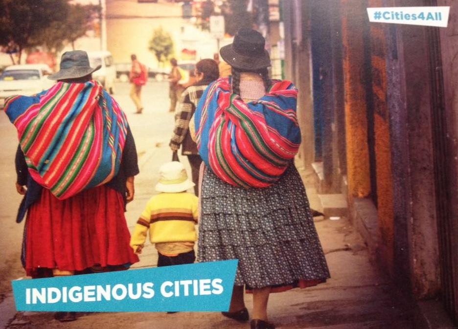 Indigenous Cities, Habitat III Conference image
