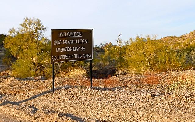 US-Mexico border image