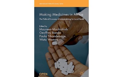 Making Medicines in Africa front cover of book