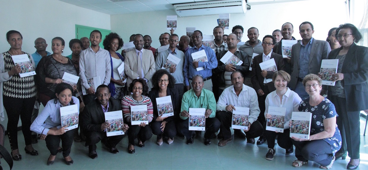 Group photo of attendees at Count Me In launch event