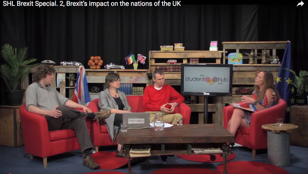 Student Hub Live Brexit Special Nations image