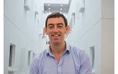 Image of Dr Rory Horner smiling